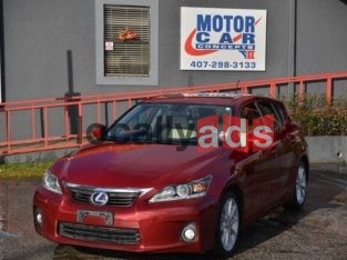 2013 LEXUS CT 200H Car For Rent