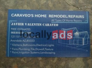 ALL TYPES OF HOME REPAIRS