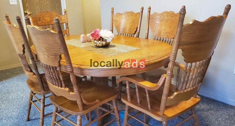 Table And 6 Chairs For Sale