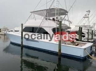 2000 Viking 65 Convertible Boat for Sale