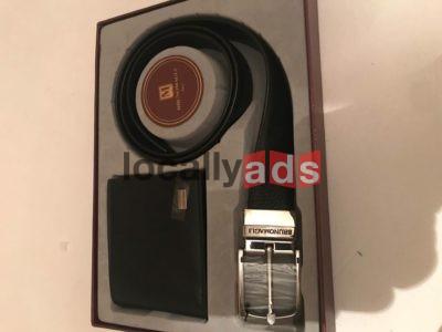 Brunomagli Belt And Wallet Set For Sale