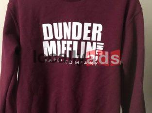 Dunder Mifflin Sweatshirt For Sale