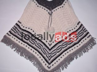 Hand Made Ponchos For Sale