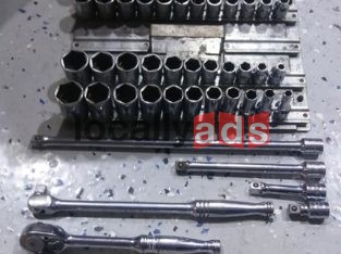 Snap on 3/8 set MM-SAE For Sale