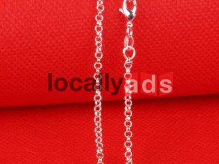 Solid Sterling Chains For Sale