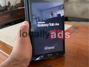 Galaxy Tab AE with case