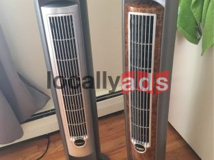 Two tower fan and one table fan